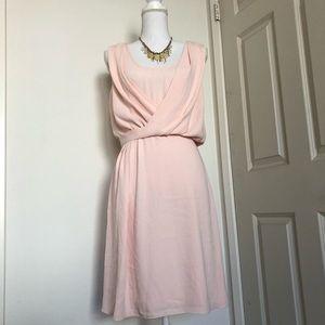 NWOT White House Black Market Blush Dress Sz 2